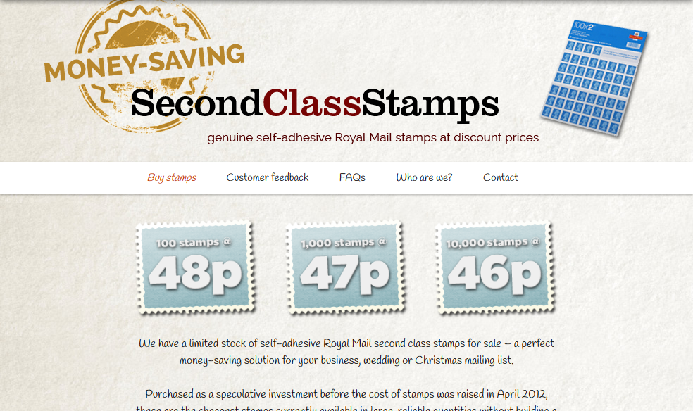 FireShot Screen Capture #132 - 'Second Class Stamps - from 46p' - www_secondclassstamps_com