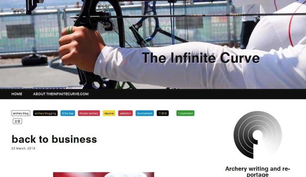 infinite curve